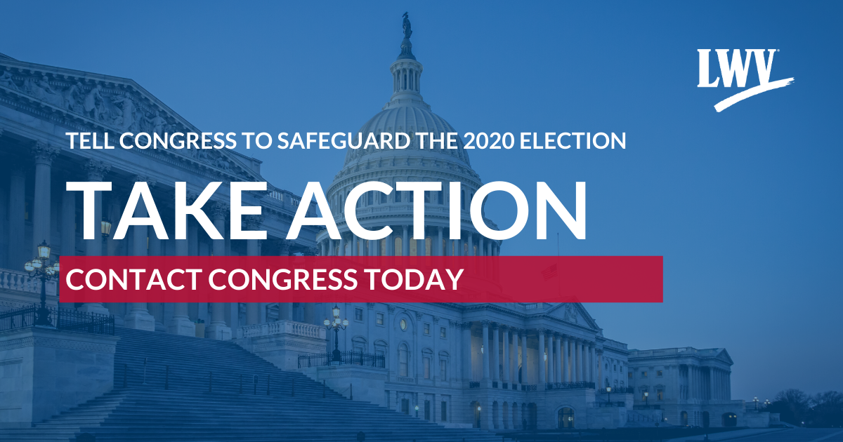 Tell Congress to Safeguard the 2020 Election
