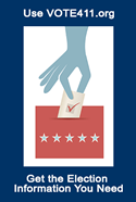 Use VOTE411.org to get the elections information you need