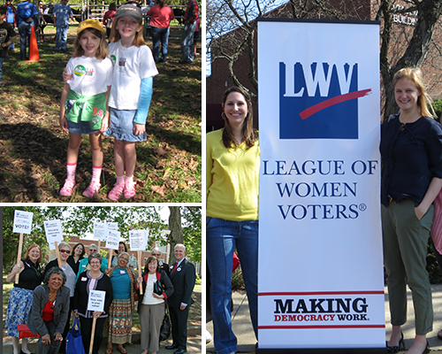 LWV Volunteers and Staff