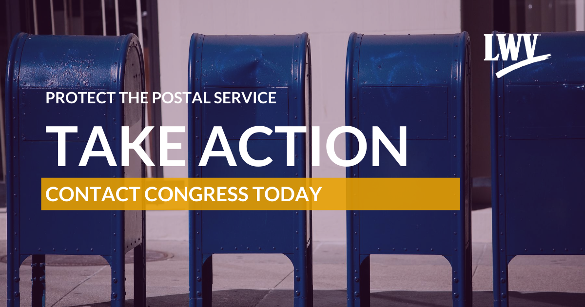 Protect the Postal Service: Take Action