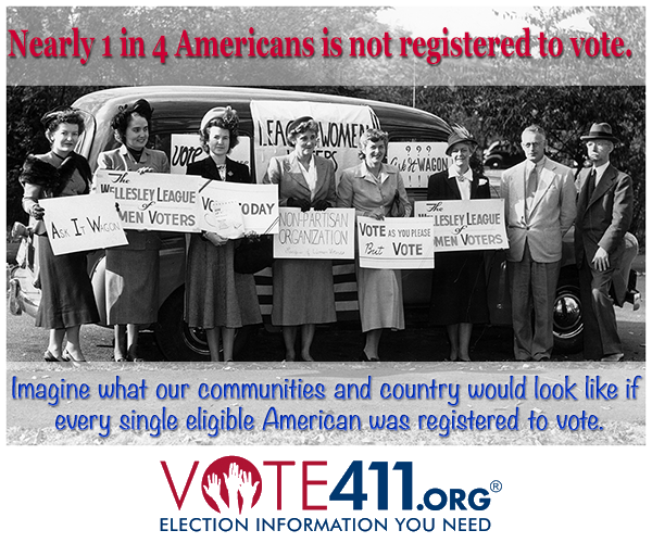 Send our Voter Registration Postcard