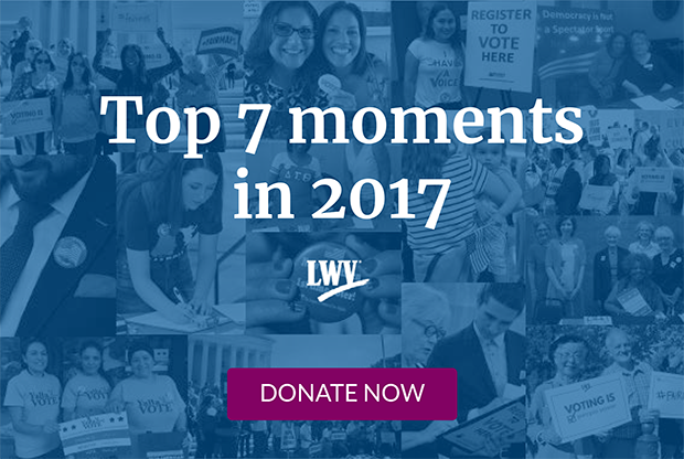 Top 7 moments in 2017